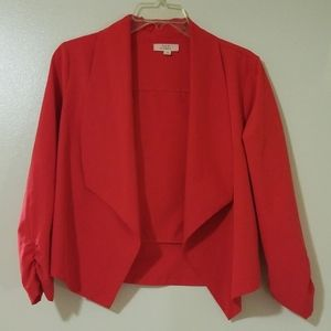 Coral Blazer Stretch